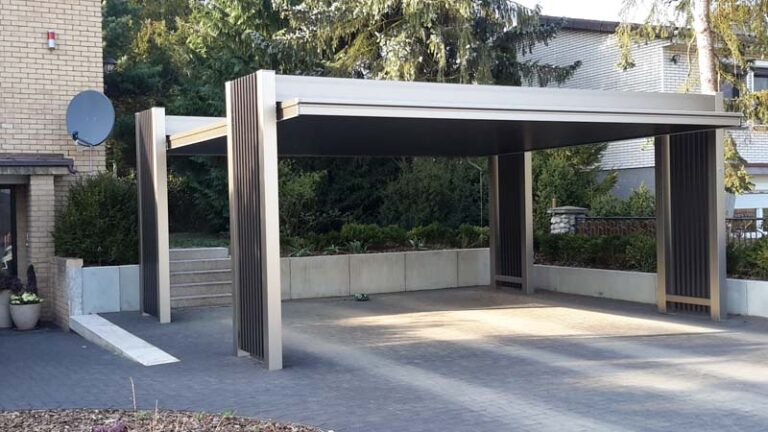 Alu Carport Serie Atlade Carportunion