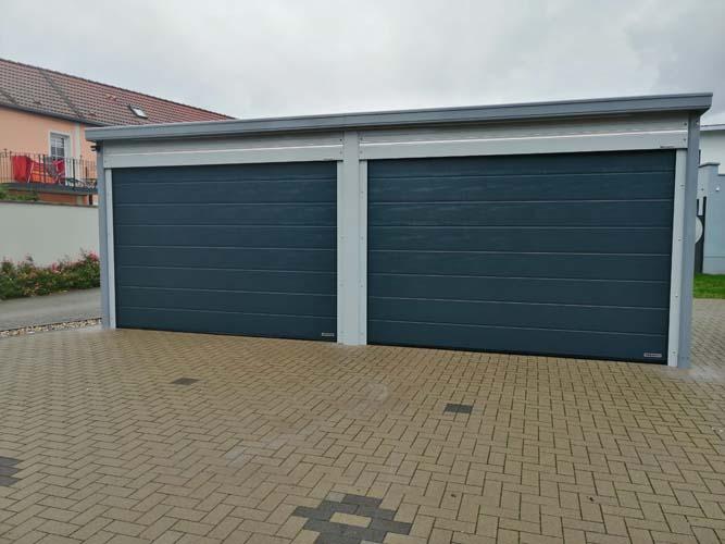 Garage aus Aluminium von CarportUnion