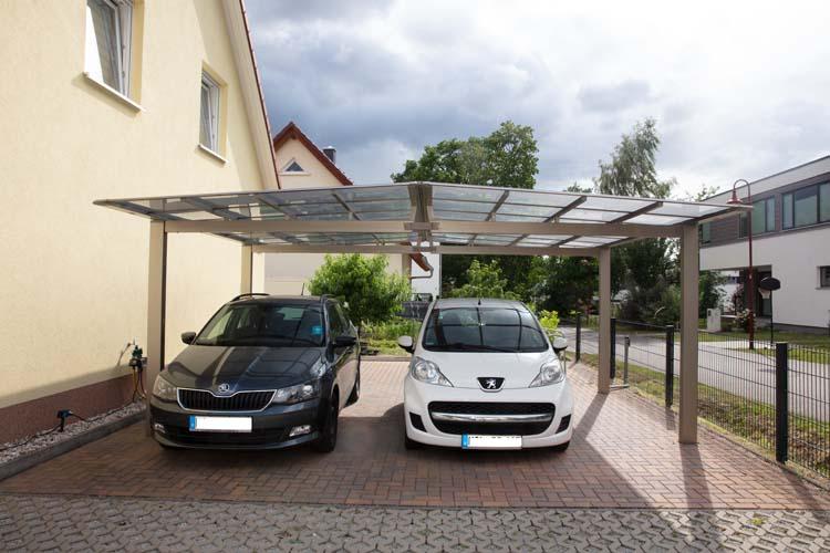 Alu Carport Serie MLR Carportunion