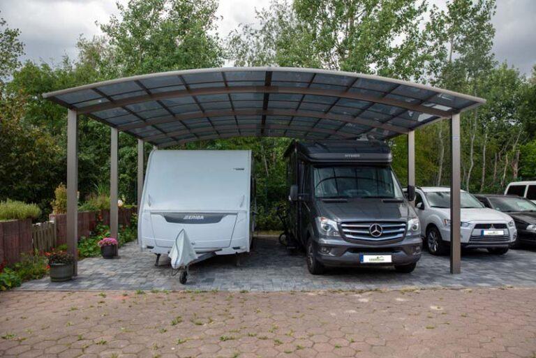 Wohnmobilcarport von CarportUnion in Strausberg