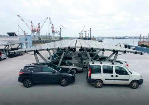 Solar-Carport Pensilsole