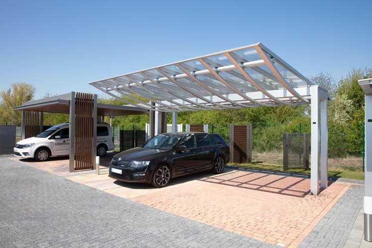 Alu Carport Serie Aero Shade Carportunion