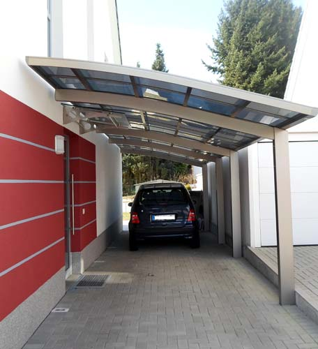 Alu Carport Serie VR Carportunion