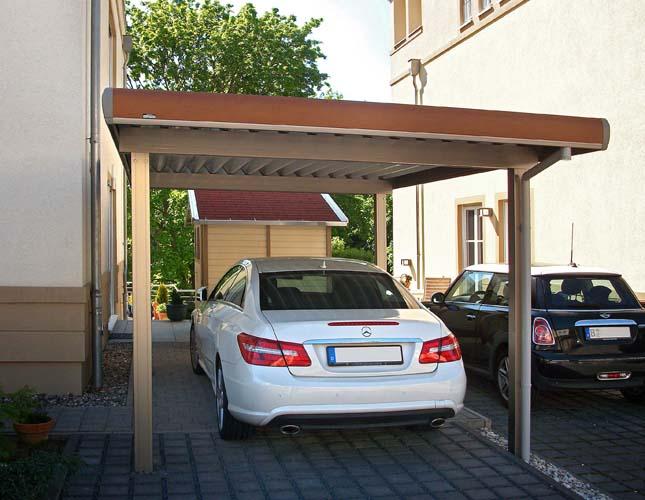 Alu Carport Serie KG Carportunion