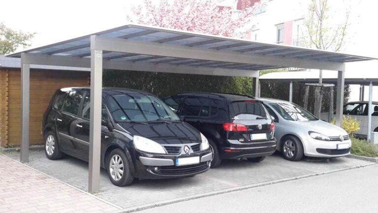 Alu Carport Serie LJF Carportunion