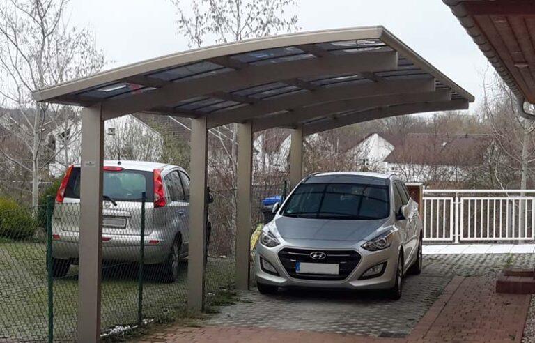 Alu Carport Serie VD/VDS Carportunion
