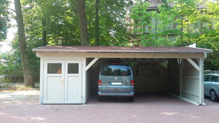 Satteldach-Carport CarportUnion