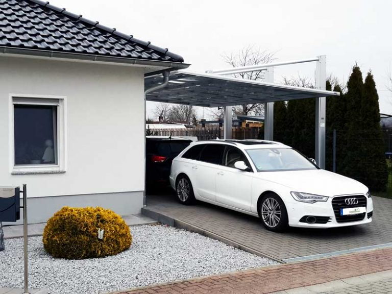 Aluminium Carport KWC von Carportunion