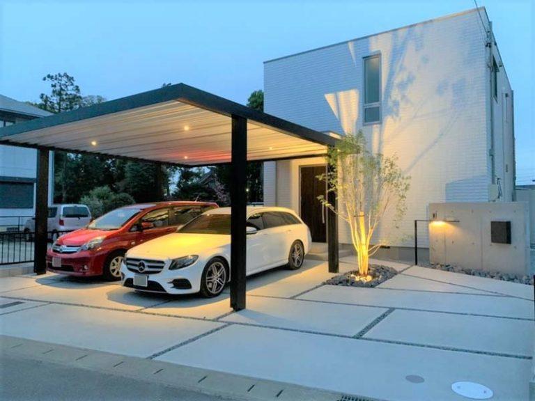 BEAMS SKC Aluminium Carport von Carportunion